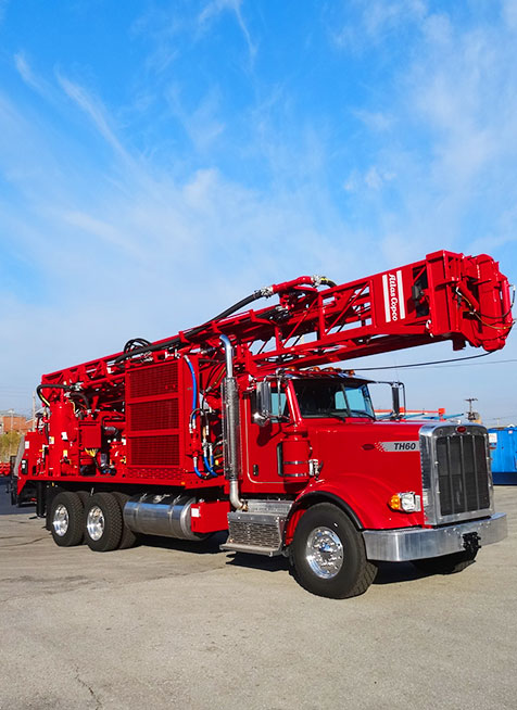 drilling rig red longer