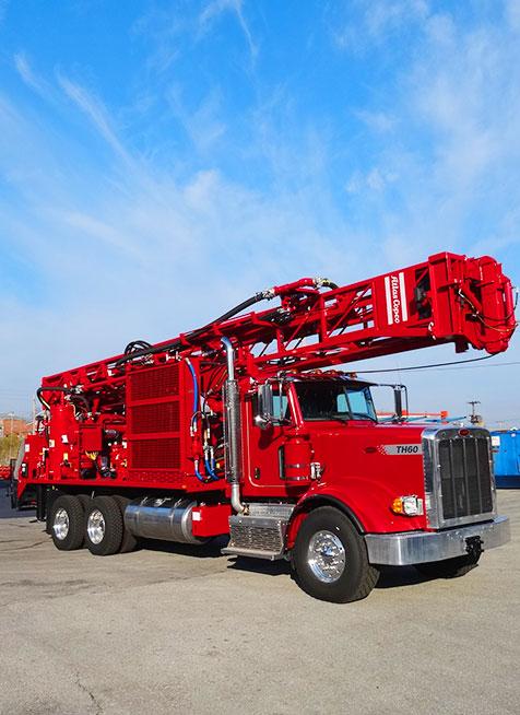 drilling rig red longer